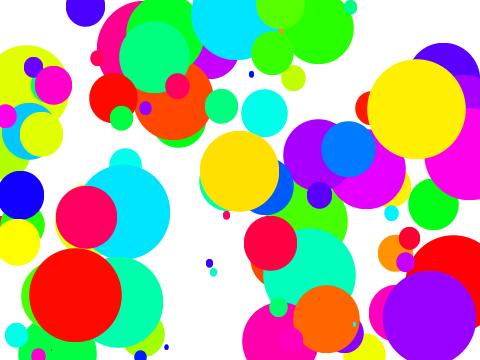 多彩泡泡-练习题目